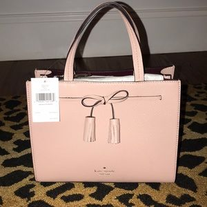 NWT Kate Spade Small pale pink Satchel